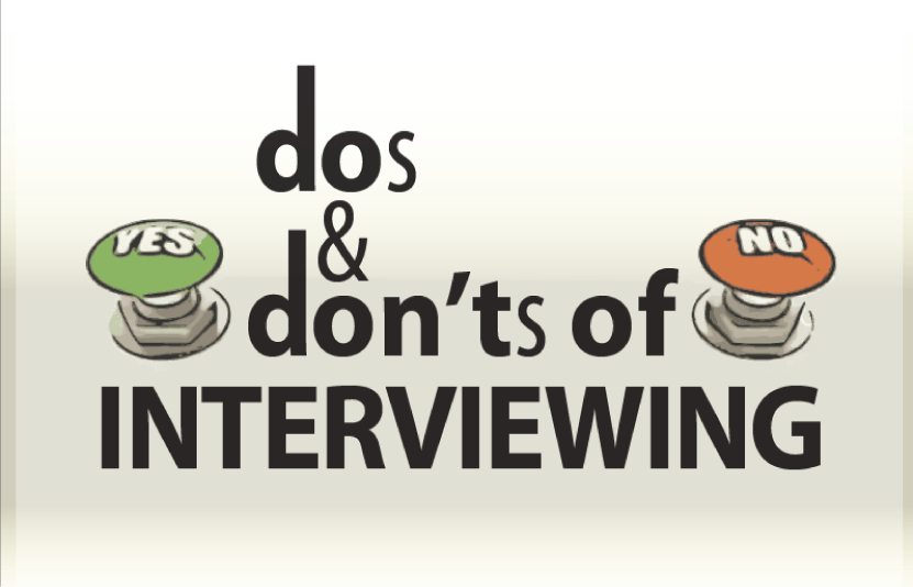 Hiring And Interview Reminders (Some Do's And Don'ts) For Newbies: